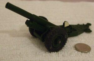 DINKY MILITARY MODEL  ** 7.2 INCH HOWITZER FIELD GUN **  NEAR MINT - CAT No 693