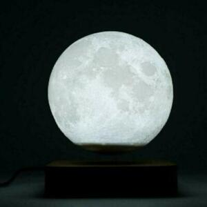 3D Magnetic Moon Lamp Lamps levitating Night Light Levitation Decoration X5R6