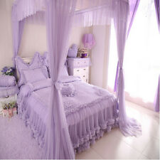 Luxury 100% cotton Bedding Lace romantic Duvet cover Sets for girls bedding gift