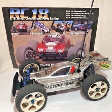 1/18 Team Associated RC18T Buggy Conversion Alum Upgrade Graphite Chas Reedy Mot