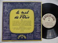 """25 cms 10"""" Mal de Paris ERIC AMADO LEO FERRE MOULOUDJI MONTERO VERVIL LD M 4023"""