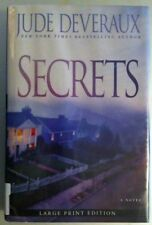 Secrets by Jude Deveraux (2008, Hardcover, Large Type)