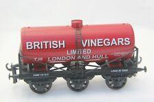 WJ Vintage, Gauge O ( Coarse Scale Tinplate) 6 wheel Tanker wagon