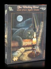 Fantasy puzzle-The Witching Hour-Lisa Parker Fantasy tumbe juego gatos