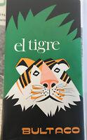 Bultaco ElTigre Dealership Sales Brochure Literature Book Pamphlet B4
