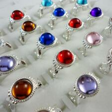 20pcs Multicolor Stone Children mixed Rings Wholesale Jewelry Free Shipping