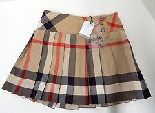 New Burberry Children 6Y Classic Nova Print Skirt nwt