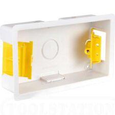 100 X TWIN DOUBLE DRY LINING PLASTERBOARD BOX 35mm APPLEBY SB629