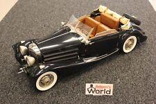 Pocher Mercedes-Benz 500K - AK Cabriolet 1935 1:8 black (Built Kit)