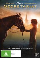 Secretariat NEW DVD Diane Lane John Malkovich race horse (Region 4 Australia)
