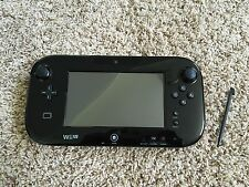 Works Great! Nintendo Wii U Black Replacement Gamepad Wireless Controller Tablet
