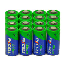 16 x CR123A DL123 CR123 123 CR17345 3V Lithium Photo Camera Battery PKCELL