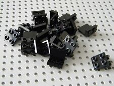 "Lego - Black 1 x 2 - 2 x 2  ""L"" Shaped Plates - Brackets - New Condition !!"