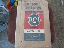 Vintage RCA TV Picture Tube 8DP4 Cathode Ray Tube With Original Box Not Tested