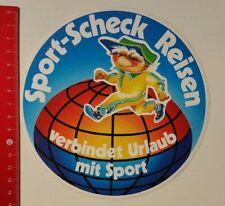 Aufkleber/Sticker A4: Sport-Scheck Reisen verbindet Urlaub mit Sport (090416175)