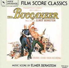 The Buccaneer Soundtrack by Elmer Bernstein (CD-1982 Varese Sarabande) LIKE NEW