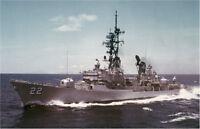 USS BENJAMIN STODDERT DDG-22 LAPEL HAT PIN UP MADE IN US NAVY VETERAN VIETNAM