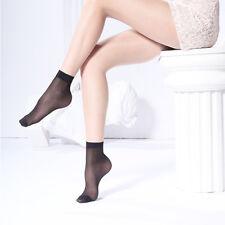 10 pair New Thin Women Elastic Velvet Silky Short Silk Stockings Ankle Socks