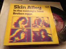 "SKIN ALLEY SPANISH 7"" SINGLE SPAIN IN THE MIDNIGHT HOUR TRANSANLANTIC"