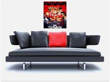 "DOUBLE DRAGON TRIBUTE BORDERLESS MOSAIC TILE WALL POSTER 35"" x 25"" RETRO GAMING"