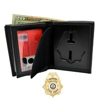 Perfect Fit Blackinton B96 Badge Wallet Recessed Cut Bi-Fold Police Firefighter