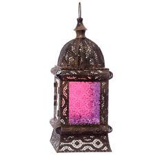 Orientalische Laterne Goldfarbig Marokkanischer Stil Laubsägearbeit Stehend