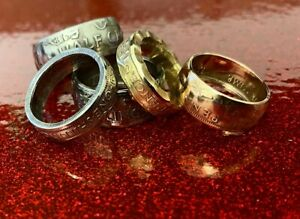 BESPOKE Coin Rings  Made to Order