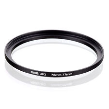 72mm to 77mm 72-77 72-77mm 72mm-77mm Stepping Step Up Filter Ring Adapter