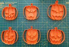 Halloween Pumpkin Cookie cutter set of 6
