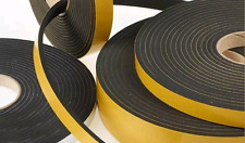 Self Adhesive Foam Sealing Tape Strip Draught Excluder EPDM Rubber 10 meter !!!!