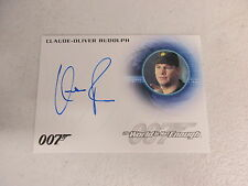 2016 James Bond Classics Claude-Oliver Rudolph as Akakievich Autograph Card A288