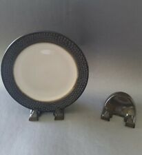 12 Plate Stands, China, antique, dinnerware