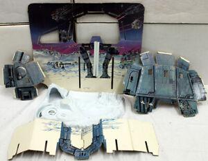 Star Wars Vintage Loose Playset Hot Ice Planet  // C5 (Incomplete)