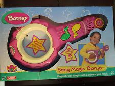 Playskool Barney the Dinosaur Song Magic Banjo 1997 8 Songs 8 Instruments Nib