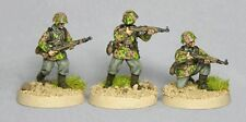TQD GS10 20mm Diecast WWII German Waffen SS in Early Smocks w Automatic Rifles