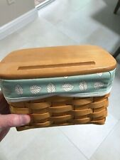 New ListingLongaberger Recipe Basket with liner and lid