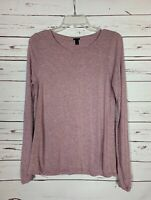 J.Crew Women's Size S Small Lavender Pink Long Sleeve Soft Spring Top Shirt Tee
