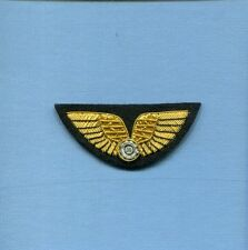 AVG FLYING TIGERS AVIATOR PILOT WING BULLION WW2 Squadron Flight Jacket Patch