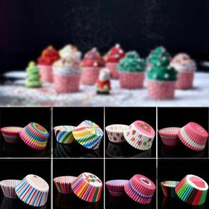 100 Pieces Paper Baking Cups Cupcake Paper Cups Grease Paper Cup Cupcake Liners