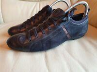 LOUIS VUITTON Brown Black Trainers Shoes  39   UK  6    GENUINE