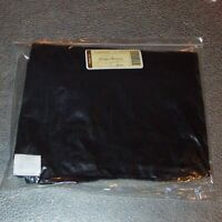 Longaberger Black CORNER HAMPER Basket Liner ~ Brand New in Original Bag!