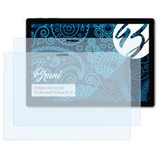Bruni 2x Lámina Protectora para Microsoft Surface Pro 6 Película Protectora