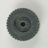 Original 1985 GI JOE WEAPON TRANSPORT Tire Wheel ARAH part UNBROKEN cobra