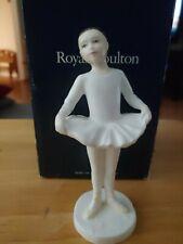 "Royal Doulton Figurine ""Ballet Class "" Hn 3731 With Box"