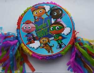 Super Why Piñata Birthday Party Game party Decoration photo prop,