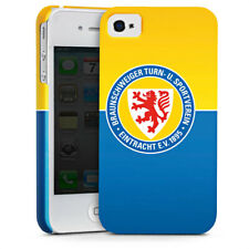 Apple iPhone 4 premium case cover-Eintracht Braunschweig azul amarillo