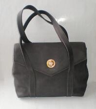 Gianni Versace Wildleder Handtasche Tasche Original