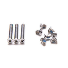 """10XBottom Back Case Cover Screw Screws Set for MacBook Pro Series 13"""" 15"""" 17""""New"""