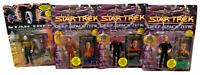 New Lot of 4 Playmates Star Trek Action Figures Deep Space Nine & Generations