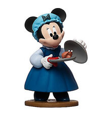 """DISNEY MICKEY'S CHRISTMAS CAROL MINNIE MOUSE MRS CRATCHIT 3"""" FIGURE CAKE TOPPER"""